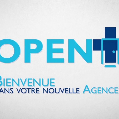 Nouvelle Agence BP Open+ -motiondesign